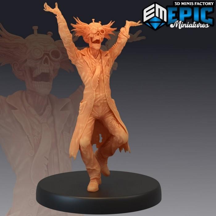 Dr. Zombiestein Laughing des Castle of Terror créé par Epic Miniatures de 3D Minis Factory