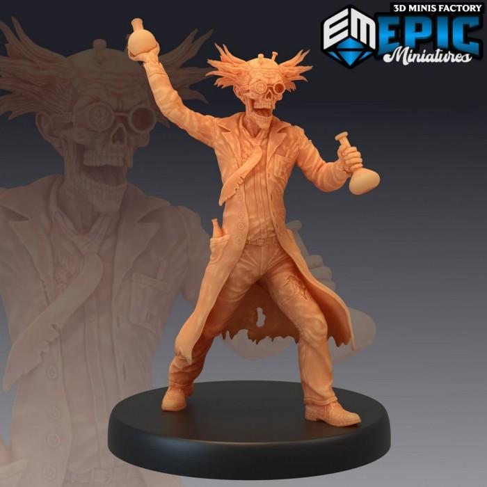 Dr. Zombiestein Potion des Castle of Terror créé par Epic Miniatures de 3D Minis Factory
