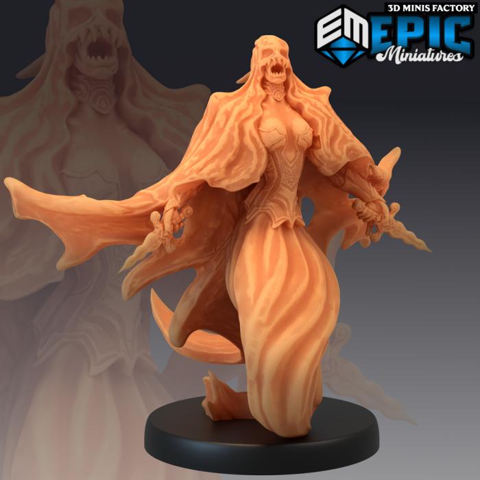 Specter Rising des Castle of Terror créé par Epic Miniatures de 3D Minis Factory