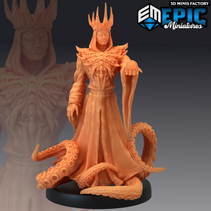 Hastur King in Yellow des Sons of Midnight créé par Epic Miniatures de 3D Minis Factory