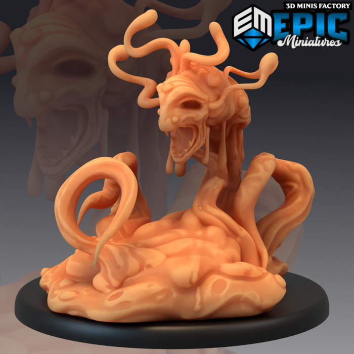 Formless Spawn des Sons of Midnight créé par Epic Miniatures de 3D Minis Factory