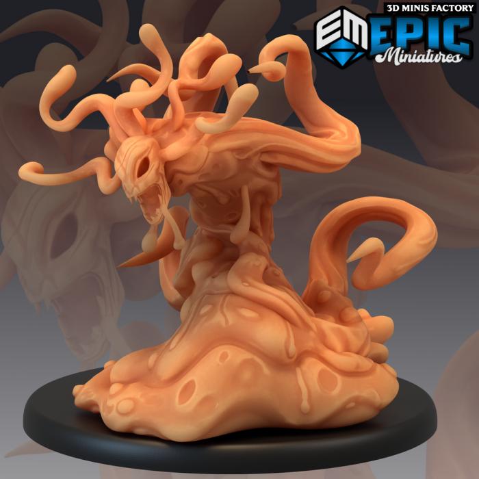 Formless Spawn Attacking des Sons of Midnight créé par Epic Miniatures de 3D Minis Factory