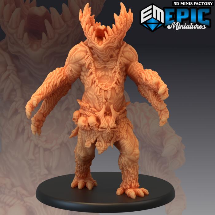 Gug des Ruins of Madness créé par Epic Miniatures de 3D Minis Factory
