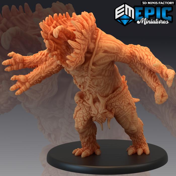 Gug Bite Attack des Ruins of Madness créé par Epic Miniatures de 3D Minis Factory
