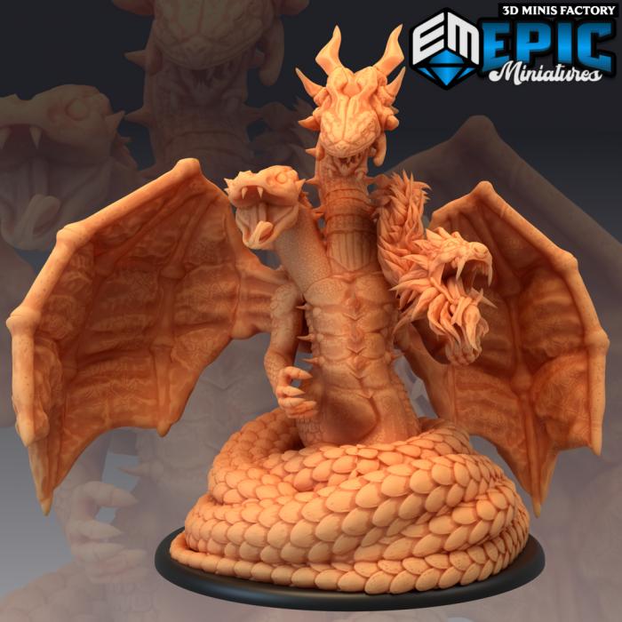 Yig des Ruins of Madness créé par Epic Miniatures de 3D Minis Factory