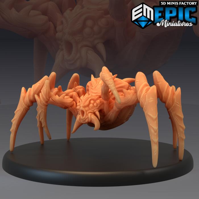 Desert Spider des Ruins of Madness créé par Epic Miniatures de 3D Minis Factory