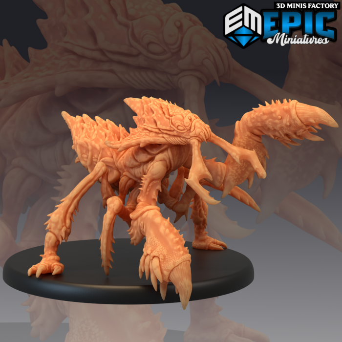 Ankheg Claw Attack des Monster Rampage créé par Epic Miniatures de 3D Minis Factory