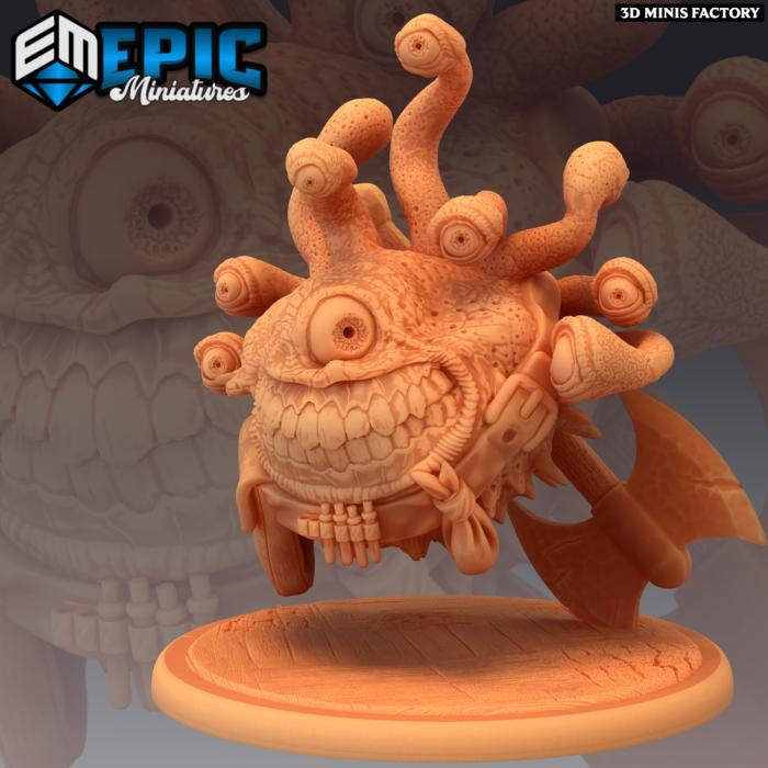 Eye Tyrant Adventurer des Last Rebellion créé par Epic Miniatures de 3D Minis Factory