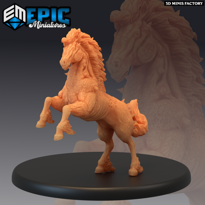 Fallen Pegasus - 3 Variations des Last Rebellion créé par Epic Miniatures de 3D Minis Factory
