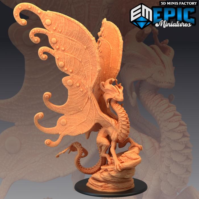 Faerie Dragon Queen des Fey Woods créé par Epic Miniatures de 3D Minis Factory