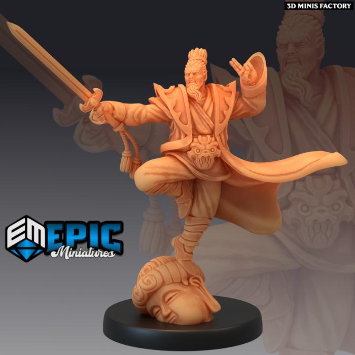 Jade Emperor Sword des Divine Dynasty créé par Epic Miniatures de 3D Minis Factory