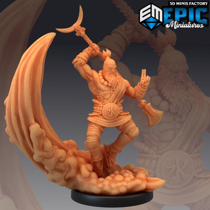 Sandy Magic des Divine Dynasty créé par Epic Miniatures de 3D Minis Factory