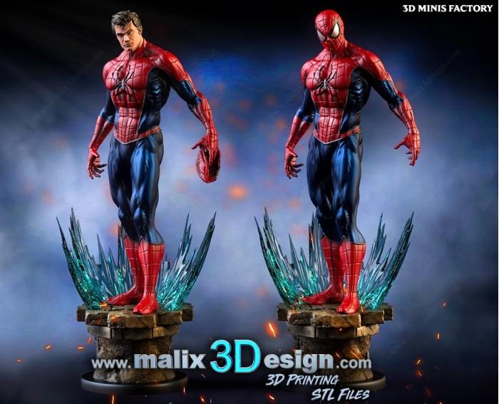 Spider-Man From Sinister Six des Marvel créé par Malix3Design de 3D Minis Factory