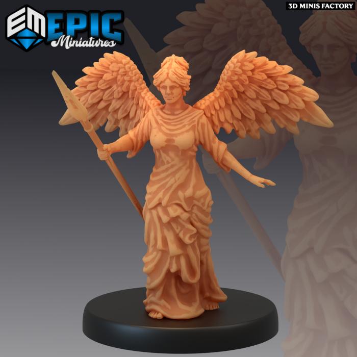 Arena Statues - Variants des Legendary Tournament créé par Epic Miniatures de 3D Minis Factory