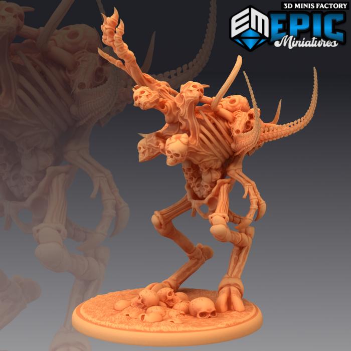 Bone Golem Magic des Fallen Sanctuary créé par Epic Miniatures de 3D Minis Factory
