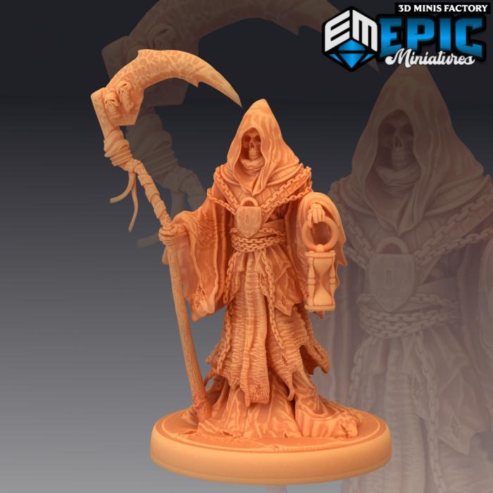 Reaper des Fallen Sanctuary créé par Epic Miniatures de 3D Minis Factory
