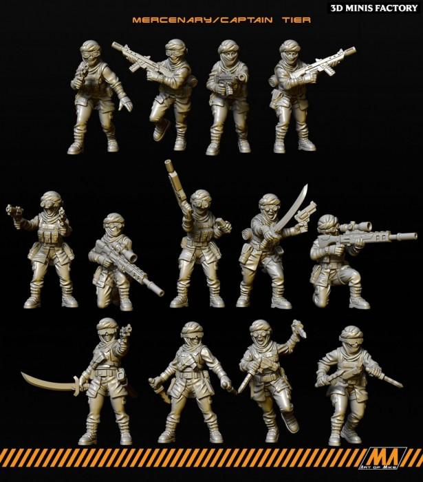 Pack de 13 Desert Raider