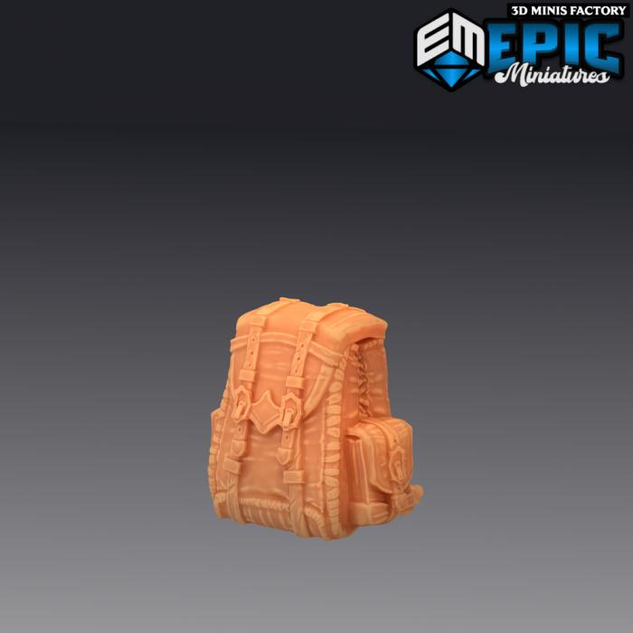Mimic Backpack - 2 Variants des Rodent Wars créé par Epic Miniatures de 3D Minis Factory