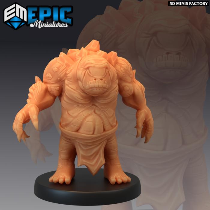 Dwarf Cyclops des Dark Swamp créé par Epic Miniatures de 3D Minis Factory