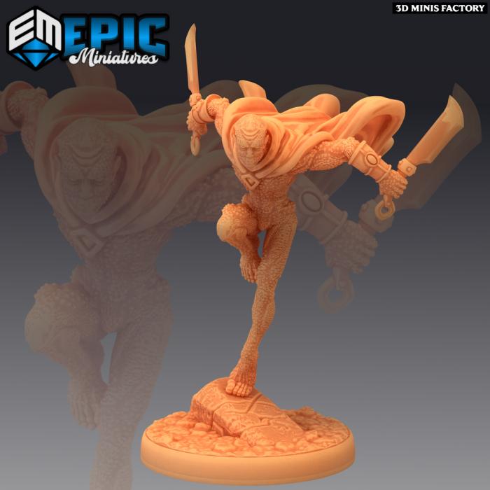 Greater Doppelganger Dagger des Psionic Overlords créé par Epic Miniatures de 3D Minis Factory