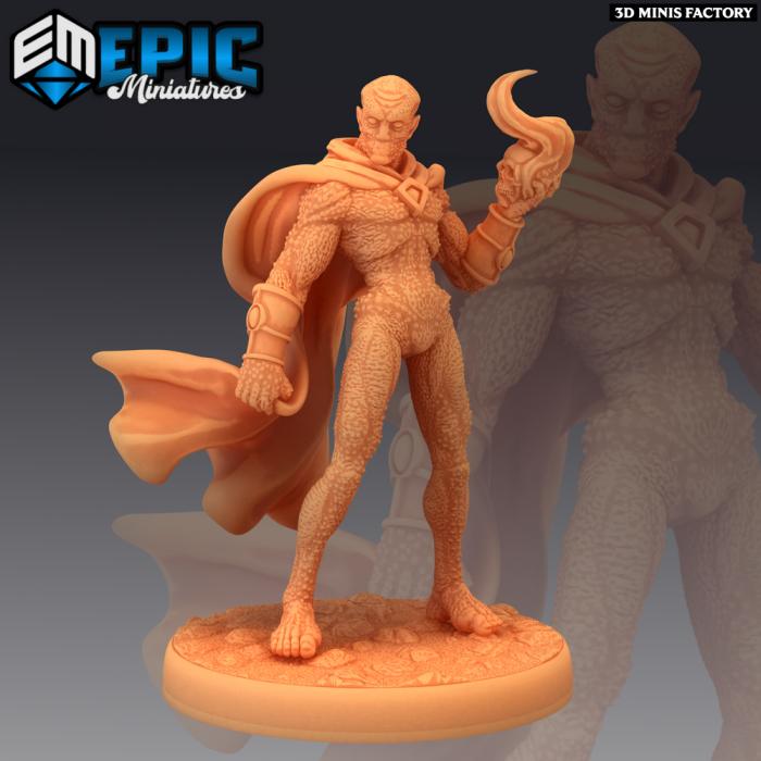 Greater Doppelganger Magic des Psionic Overlords créé par Epic Miniatures de 3D Minis Factory