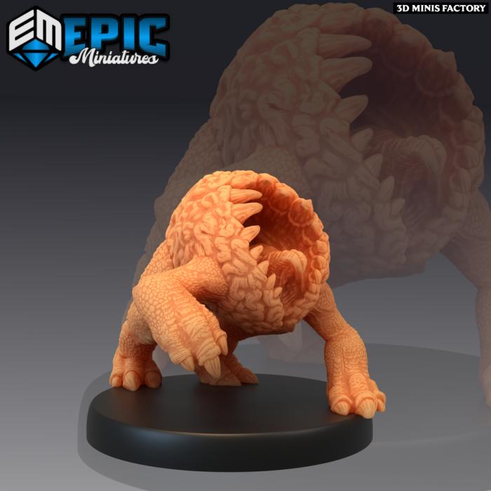 Intellect Crawler Mouth des Psionic Overlords créé par Epic Miniatures de 3D Minis Factory