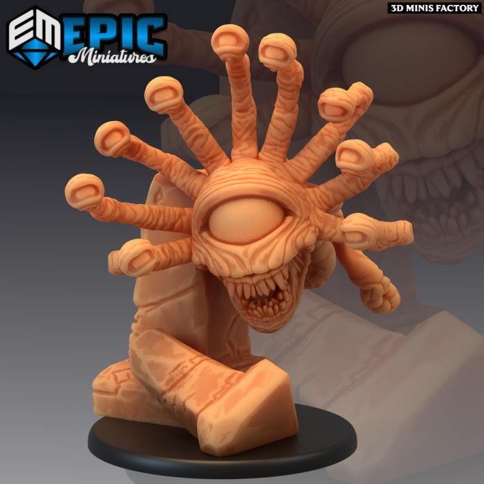 Psionic Tyrant Pillar des Psionic Overlords créé par Epic Miniatures de 3D Minis Factory