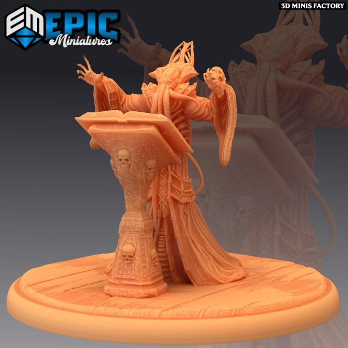 Mind Overlord Ritual des Psionic Overlords créé par Epic Miniatures de 3D Minis Factory