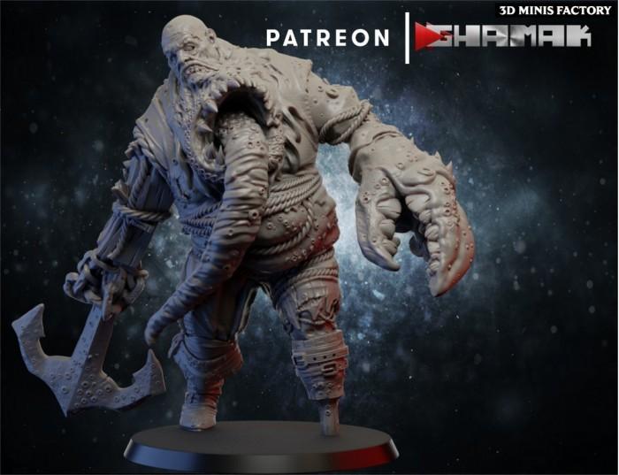 Undead Giant des Undeads créé par Ghamak de 3D Minis Factory