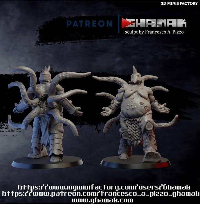 Blight Blessed des Daemon créé par Ghamak de 3D Minis Factory