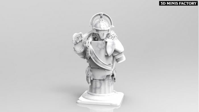 Buste La Legate  des That Evil One - Figs de Collection créé par ThatEvilOne de 3D Minis Factory