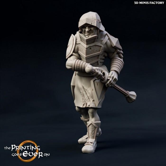 Uglab des Chapter 10 - Death of a Hero créé par The Printing Goes On de 3D Minis Factory