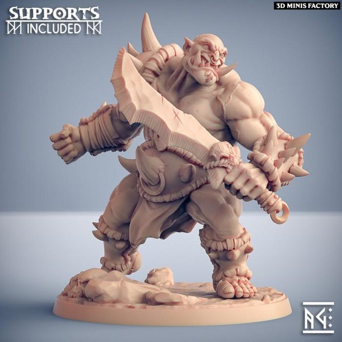 Ogre Marauder - Modular C des Ogre Marauders créé par Artisan Guild de 3D Minis Factory