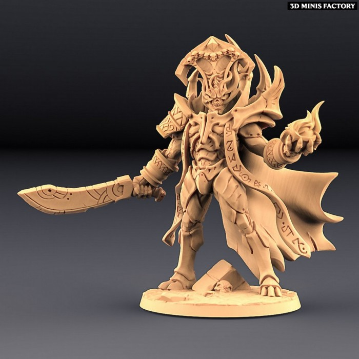 Ossarnus the Sarcophagus Guardian des Epic Bosses créé par Artisan Guild de 3D Minis Factory