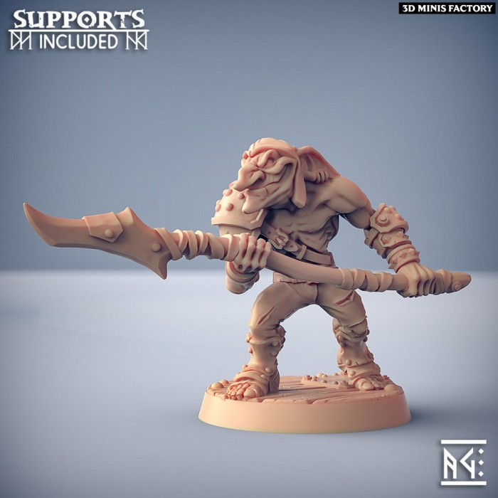 Sparksoot Goblin - C des Sparksoot Goblin créé par Artisan Guild de 3D Minis Factory