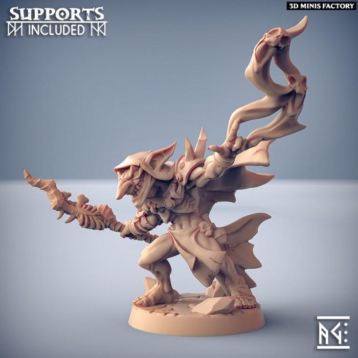 ZipZaap Darkspark des Sparksoot Goblin créé par Artisan Guild de 3D Minis Factory