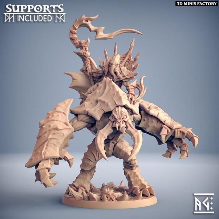 Slathos on Hive Colossus des Depth One Reaver créé par Artisan Guild de 3D Minis Factory