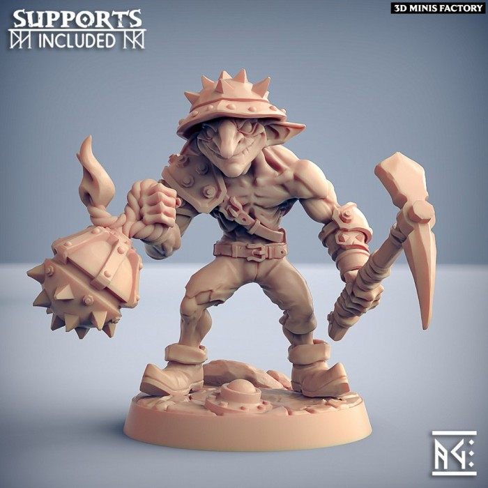Sparksoot Goblin - D des Sparksoot Goblin créé par Artisan Guild de 3D Minis Factory
