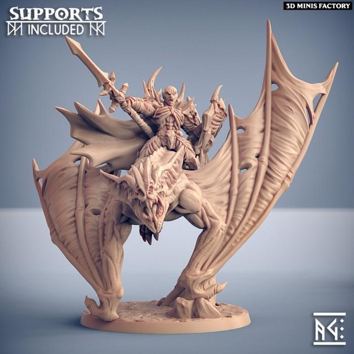 Drakenmir on Bloodhunter des Soulless Vampire créé par Artisan Guild de 3D Minis Factory