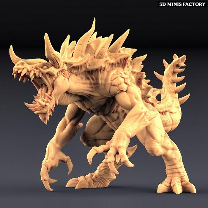 Tarasque - The Legendary Devourer des Epic Bosses créé par Artisan Guild de 3D Minis Factory