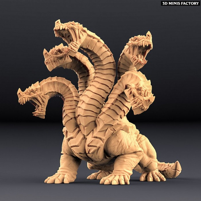 Hydra (AMAZONS! Kickstarter) des Amazons KickStarter créé par Artisan Guild de 3D Minis Factory