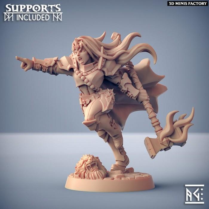 Morgana the Ascended des Fighters Guild créé par Artisan Guild de 3D Minis Factory