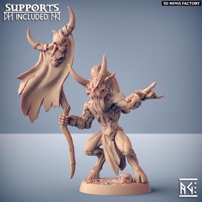 Abyss Demon Gruntiling - D des Abyss Demons créé par Artisan Guild de 3D Minis Factory