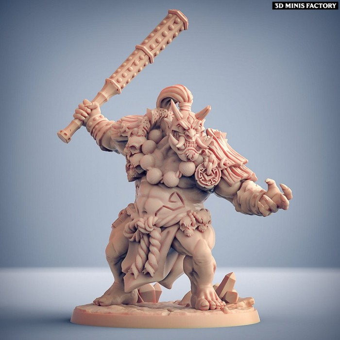Oni Clan - Modular E (Kyojin) des Oni Clan créé par Artisan Guild de 3D Minis Factory