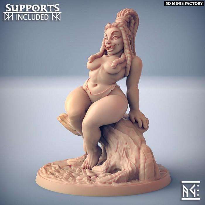 Ogre Marauders - Fantasy Pinup des Ogre Marauders créé par Artisan Guild de 3D Minis Factory