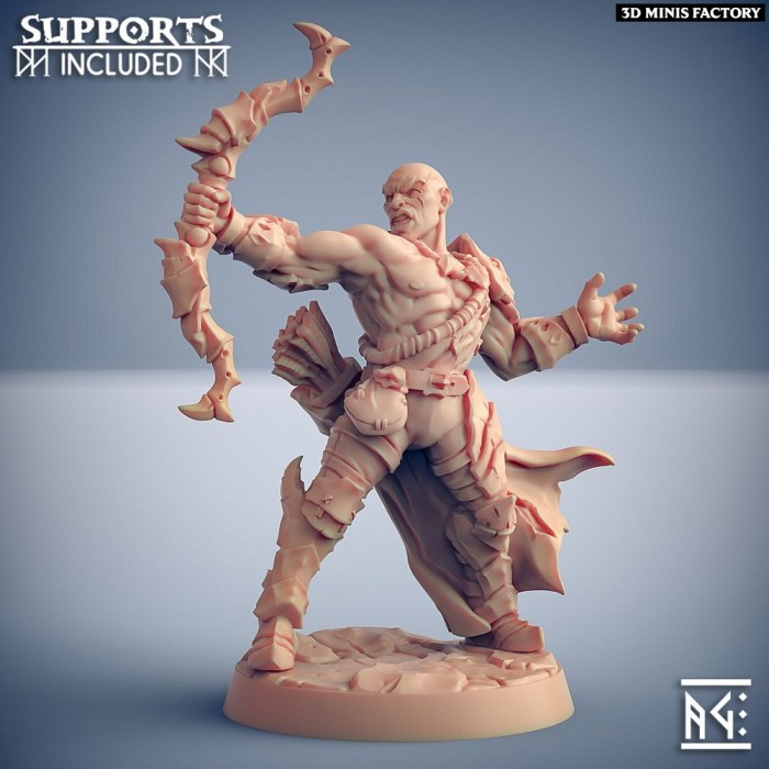 Scourgeland Survivor - Modular C (male) des Scourgeland Survivors créé par Artisan Guild de 3D Minis Factory