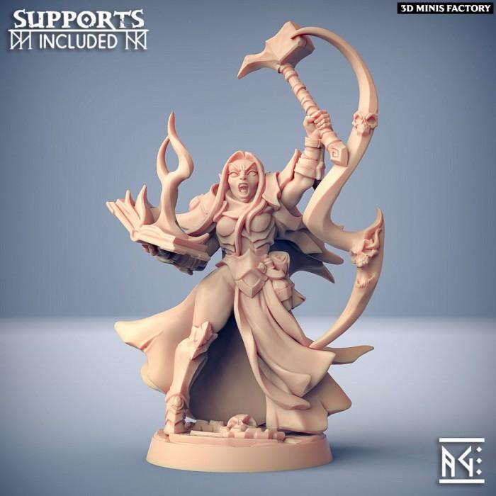 Talya the Hammer des Ashen Alfar Inquisitors créé par Artisan Guild de 3D Minis Factory