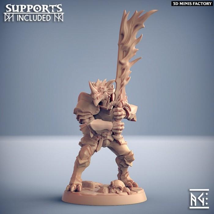 The Dragonguard - Modular B des The Dragonguard créé par Artisan Guild de 3D Minis Factory