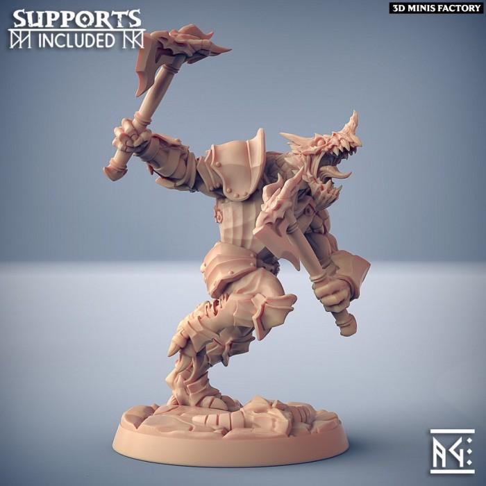 The Dragonguard - Modular C des The Dragonguard créé par Artisan Guild de 3D Minis Factory