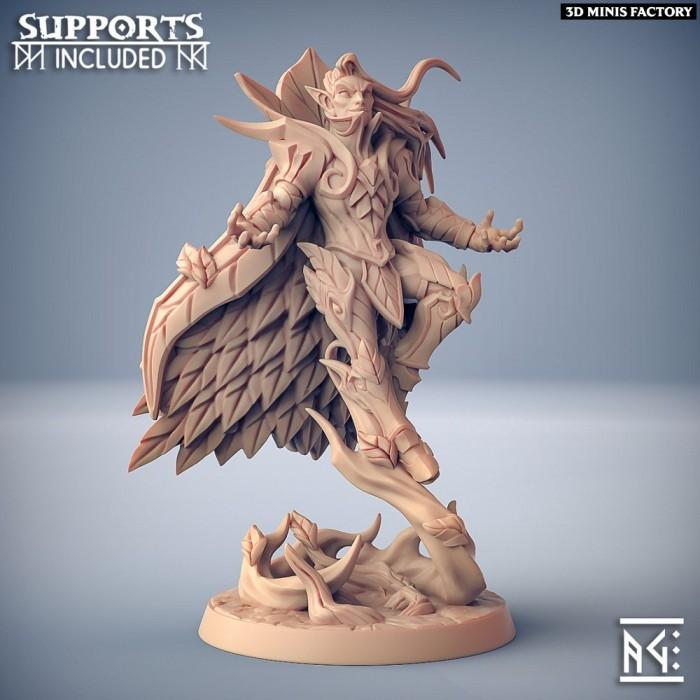 Kivael Sylvanwind des Sylvan Knight créé par Artisan Guild de 3D Minis Factory